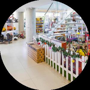 Дезинфекция магазинов и торговых центров