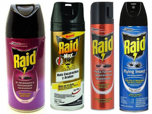 Raid поможет избавиться от клопов в сжатые сроки