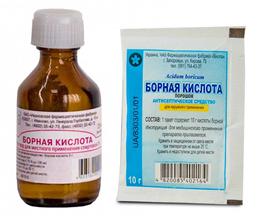 Борная кислота - одно из сильнейших подручных средств для борьбы с тараканами