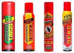 Дихлофос - профессиональное средство от тараканов